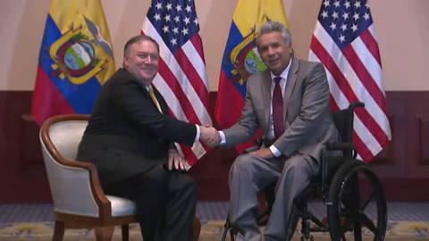 Pompeo: protección de Cuba a Maduro bloquea elecciones