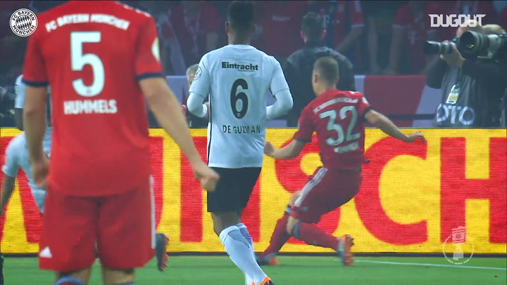 Lewandowski's best goals against Frankfurt