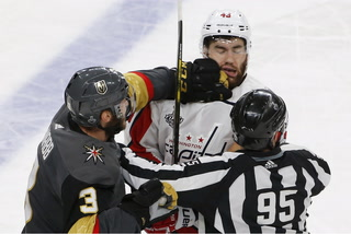 Golden Knights On Game One Against Capitals
