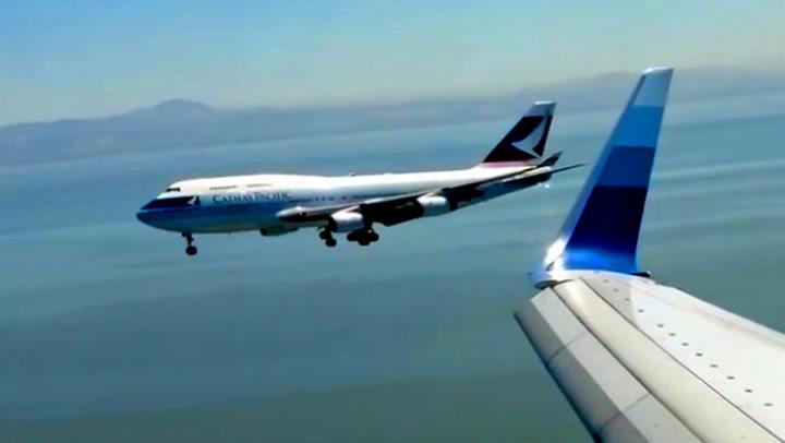 Flyene skal lande side om side - så må det ene avbryte