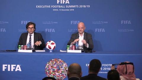 Infantino: federaciones apoyan Mundial de 48 equipos