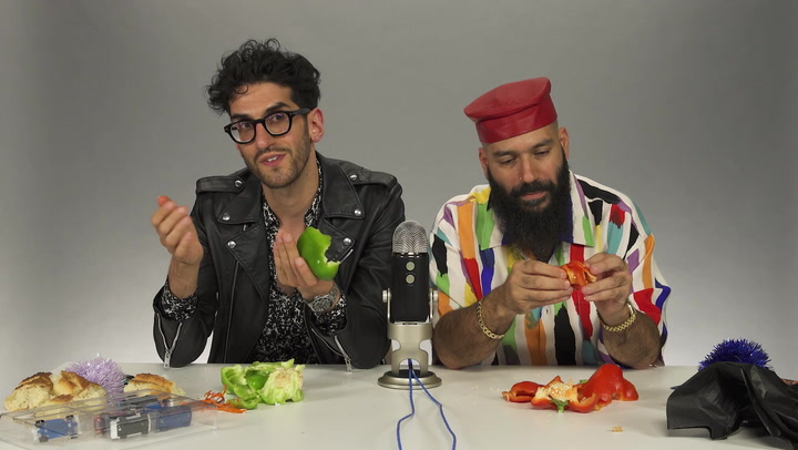 Chromeo Does An Insomina-Inspired ASMR with Goodie Bags And Vegetables