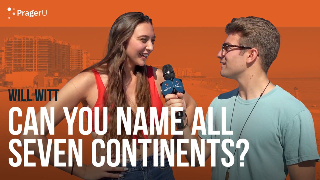 Can You Name All Seven Continents?