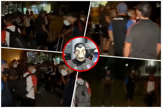 Patón Mejía filtra video de la plantilla de Olimpia varados en Surinam a las 3 de la madrugada