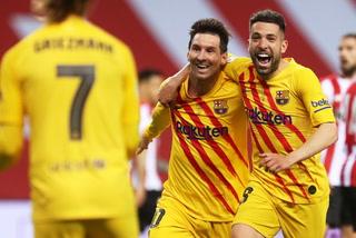 Con doblete de Messi, Barcelona está humillando al Athletic en la final de la Copa del Rey