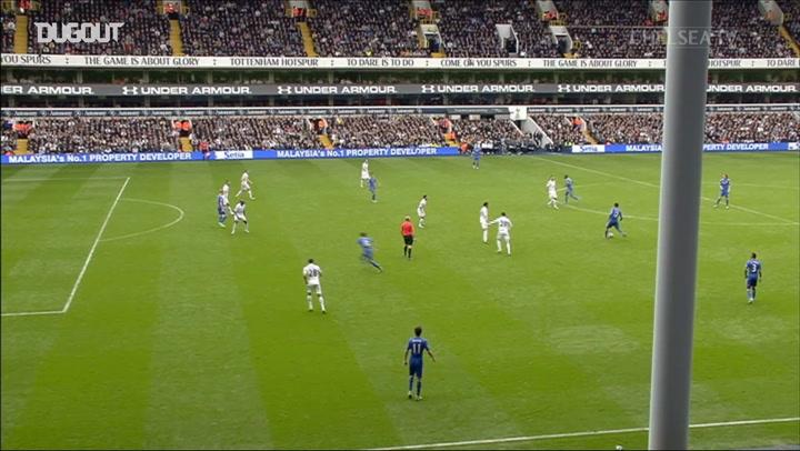 Hazard's perfect pass sets up Mata against Spurs