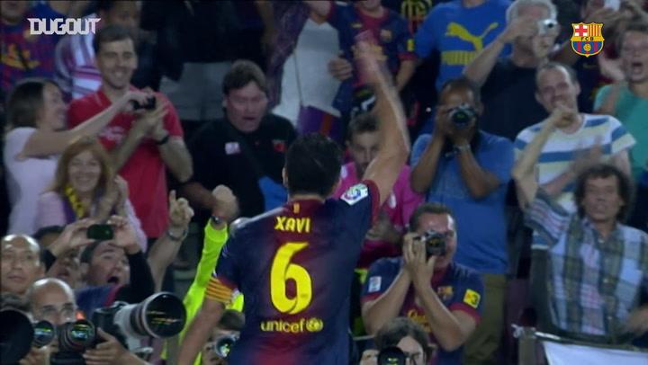 Xavi gives Barça 2-0 win over Granada