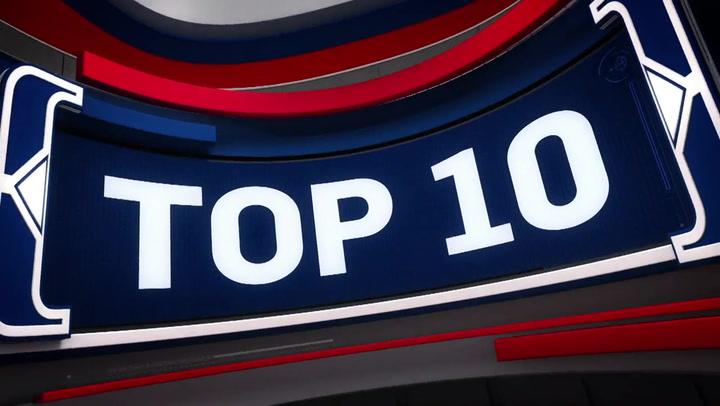 Las 10 mejores jugadas de la jornada de la NBA del 2 de marzo 2020