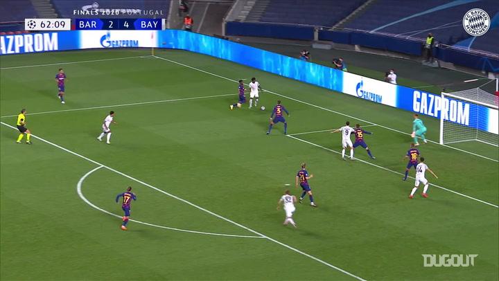 أفضل التمريرات الحاسمة: ألفونسو ديفيز أمام برشلونة