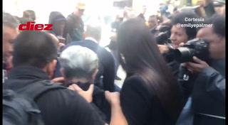La dura escena de la mamá de Tony Hernandez al salir de la corte en Nueva York