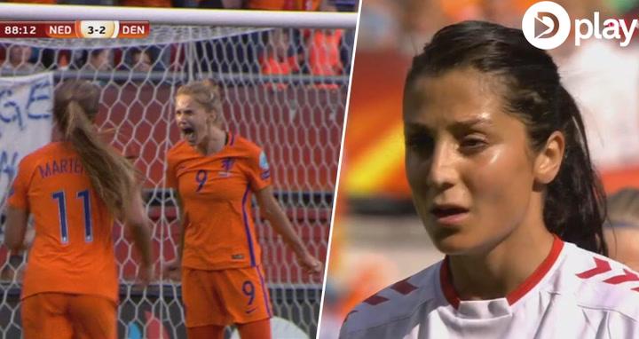 Highlights: Danmarks kvinder taber EM-finale trods heroisk indsats