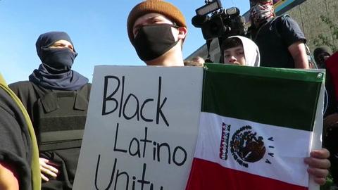 Las protestas ignoran el toque de queda y sumen a Mineápolis en el caos