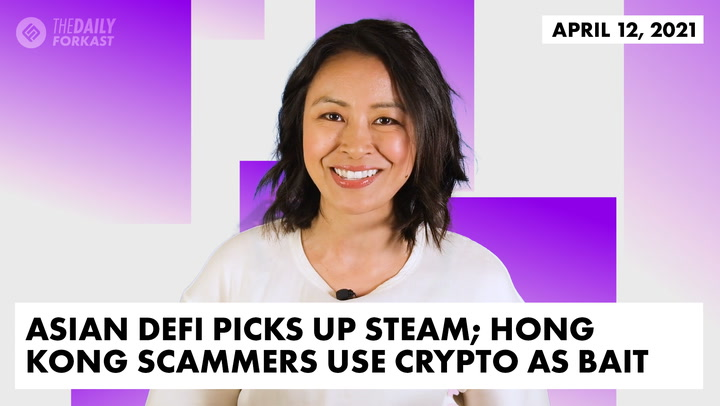Asian DeFi Picks Up Steam; Hong Kong Scammers Use Crypto as Bait