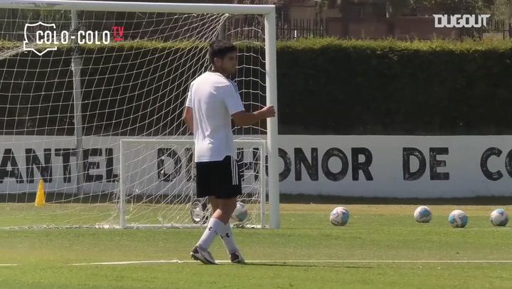 Colo-Colo start preparing for their game vs Coquimbo Unido