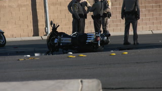 Motorcyclist seriously injured in west Las Vegas Valley crash – VIDEO
