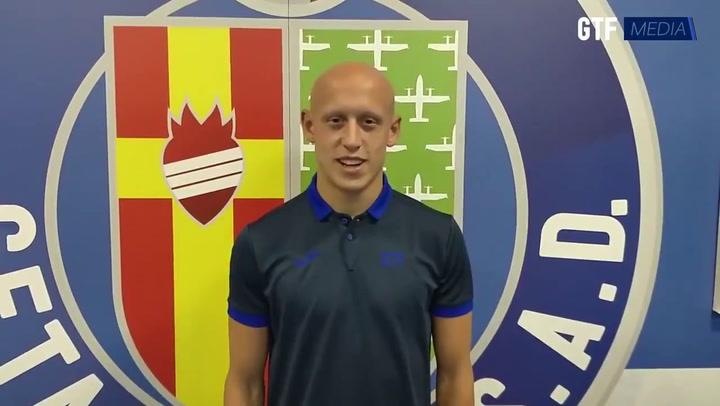 Víctor Mollejo, nuevo jugador del Getafe