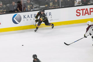 Golden Knights defenseman Brad Hunt battling for roster spot