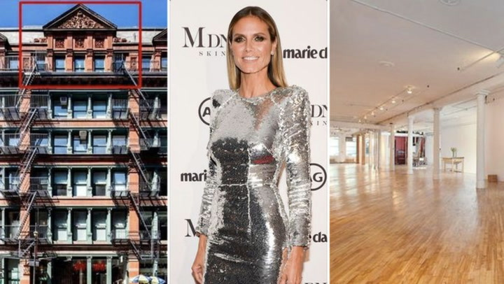Heidi Klum Buys Manhattan Loft in Need of a Makeover