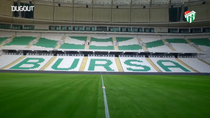 Bursaspor'un 2020-21 Sezonu Forma Tanıtımı