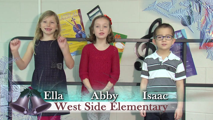 Jingle Bells West Side and Lincoln Elementary Schools