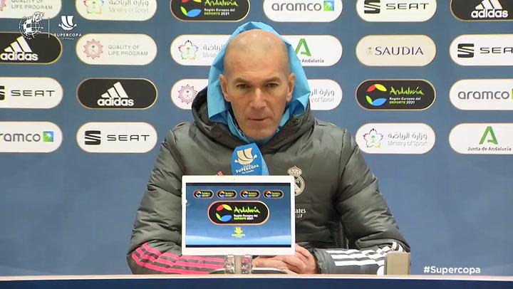 """Zidane: """"Odegaard va a triunfar en el Madrid, seguro"""""""