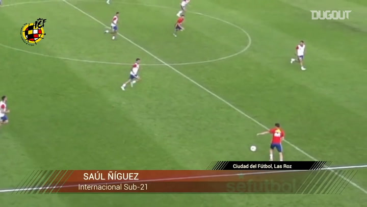Saúl Ñíguez's long-range goal in training