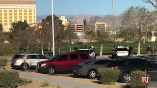 Las Vegas police investigate after man's body found in park – VIDEO