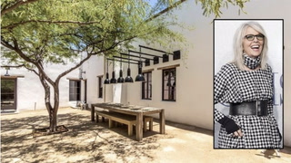 Diane Keaton Scores With a Successful Renovation of Historic Tucson Property