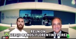Florentino Pérez da su versión y deja en mal a Sergio Ramos luego de su salida el Real Madrid