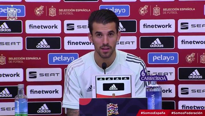 Las frases más destacadas de Dani Ceballos antes de enfrentarse a Suiza en la Nations League