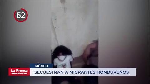 Secuestran a migrantes hondureños en México