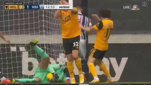 Wolverhampton 2-3 West Bromwich (Premier League)