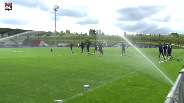 Olympique Lyonnais complete shooting session