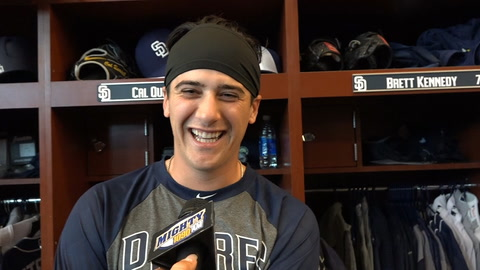 Cal Quantrill discusses his first Padres big league camp