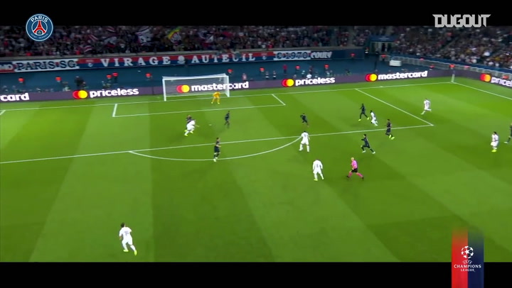 Los goles del París Saint-Germain en la Champions League 2019/20