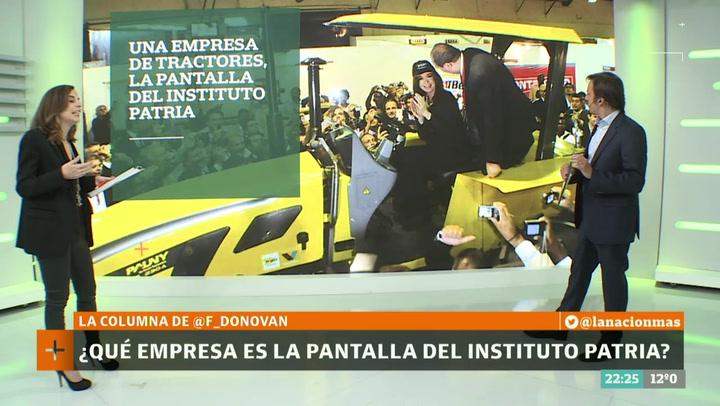 Resultado de imagen para La curiosa conexión del Instituto Patria con una empresa de tractores