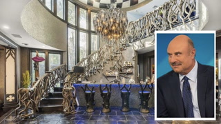 Dr. Phil's Bonkers Beverly Hills Mansion Is Grounds for an Intervention