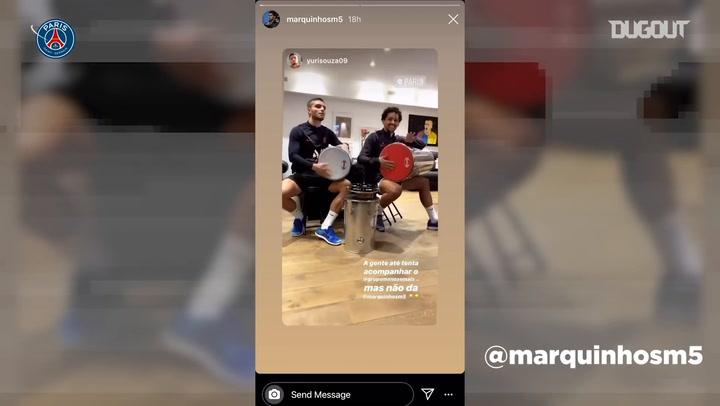 La cuarentena de los jugadores del PSG