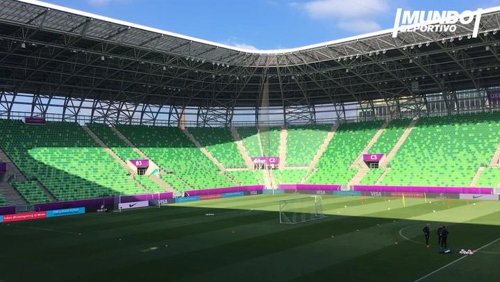 Así es el Groupama Stadium, escenario de la final de la Champions League femenina