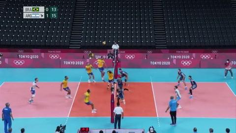 Brasil gana a Argentina y Venezuela repite derrota en el voleibol olímpico