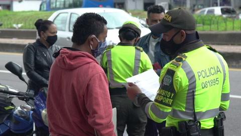 Casi 3,5 millones de personas vuelven a cuarentena estricta en Colombia