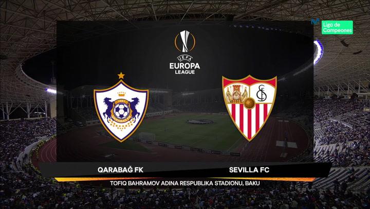 Europa League: Resumen y Goles del Partido Qarabag-Sevilla
