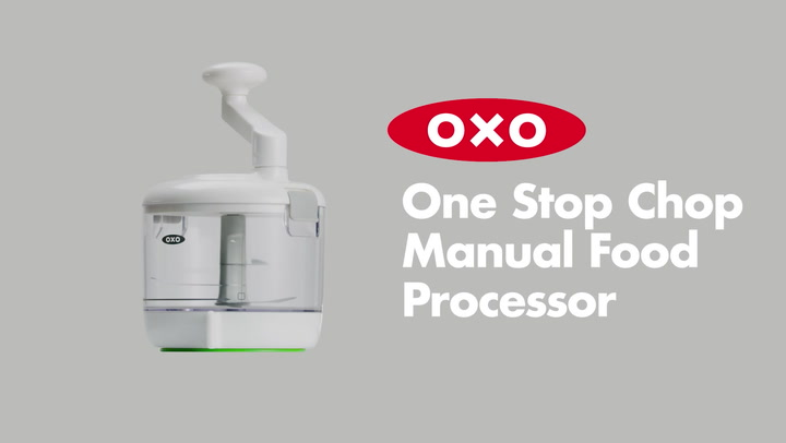 Preview image of OXO One Stop Chop Manual Food Processor video