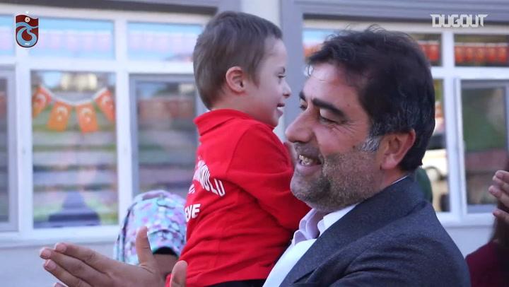 Trabzonspor'dan Okul Ziyareti