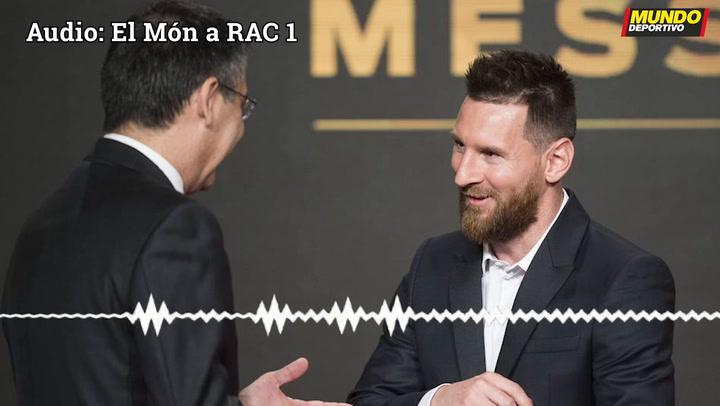 """Bartomeu: """"Veo a Messi retirándose en el Barça"""""""