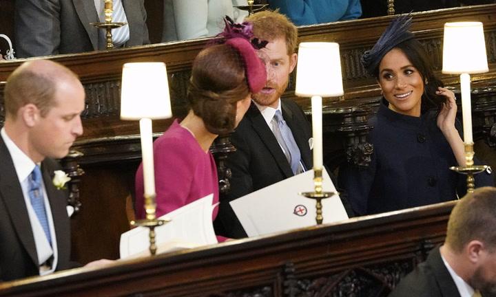 Los duques de Cambridge y los Sussex, los otros protagonistas del enlace
