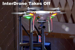 Interdrone takes off