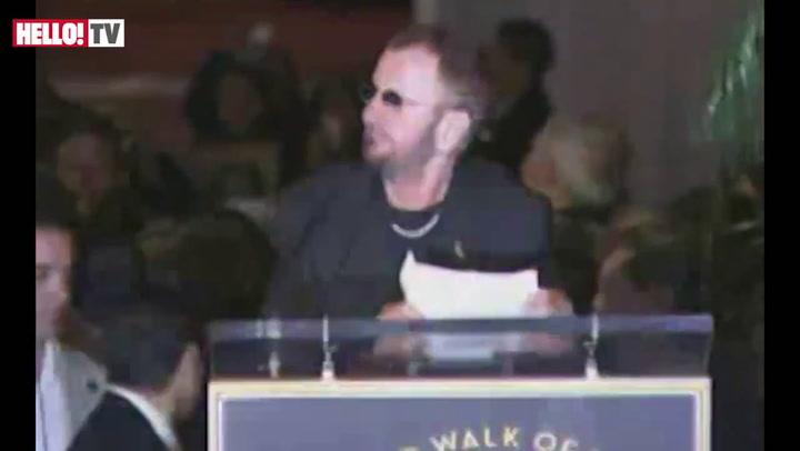 Ringo Starr honoured on Hollywood Walk Of Fame