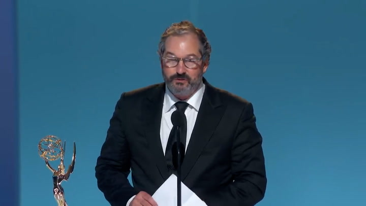 Emmys 2021: Scott Frank refuses to be played off during acceptance speech