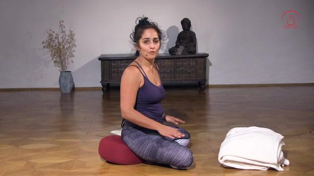 Siddhasana, der Meditationssitz